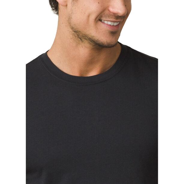 Prana Rundhals T-Shirt Herren black