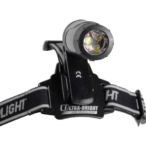 Basic Nature LED Clip Stirnlampe schwarz
