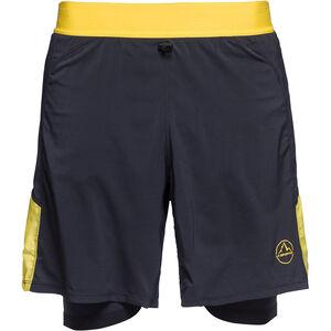 La Sportiva Velox Shorts Herren black/yellow black/yellow