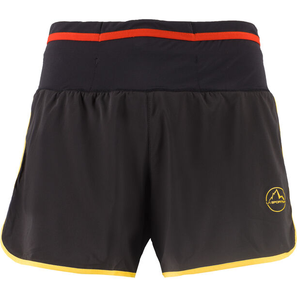 La Sportiva Tempo Shorts Herren black/yellow