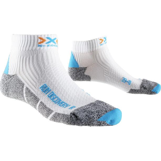 X-Socks Run Discovery New Socks Damen white/turquoise/grey moulinè