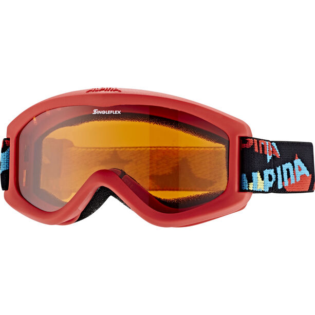 Alpina Carvy 2.0 Goggles Kinder slt s2/red