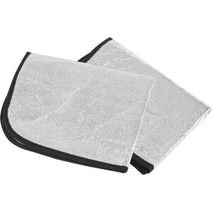 CAMPZ Aluminium Sitzkissen 2er Pack silber silber