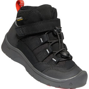Keen Hikeport Mid WP Schuhe Kinder black/bright red black/bright red
