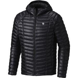 Mountain Hardwear Ghost Whisperer Hooded Down Jacket Herren black black