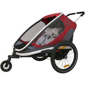 Hamax Outback Bike Trailer red/grey/black red/grey/black