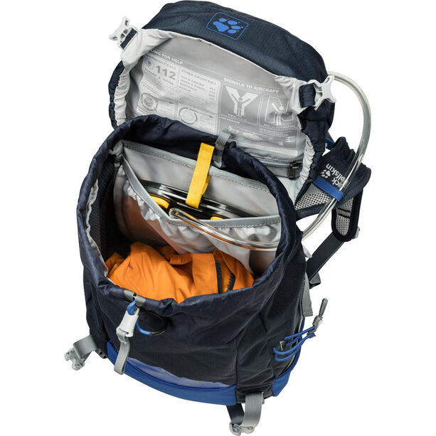 Jack Wolfskin Pioneer 22 Rucksack Kinder night blue