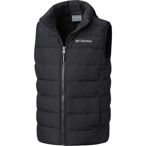 Columbia Powder Lite Puffer Weste Jugend black black