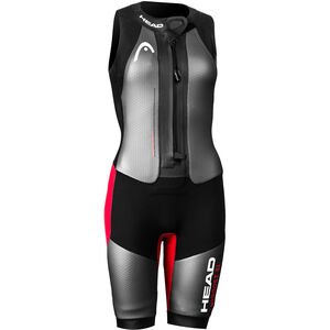 Head Swimrun MyBoost SL Wetsuit Damen black-silver-red black-silver-red