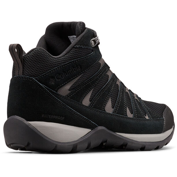 Columbia Redmond V2 WP Mid-Cut Schuhe Herren black/dark grey