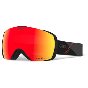 Giro Contact Snow Goggles Herren black-red sporttech w vivid ember/infrared black-red sporttech w vivid ember/infrared