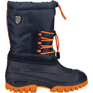 CMP Campagnolo Ahto WP Schneestiefel Jugend black blue/orange fluo black blue/orange fluo