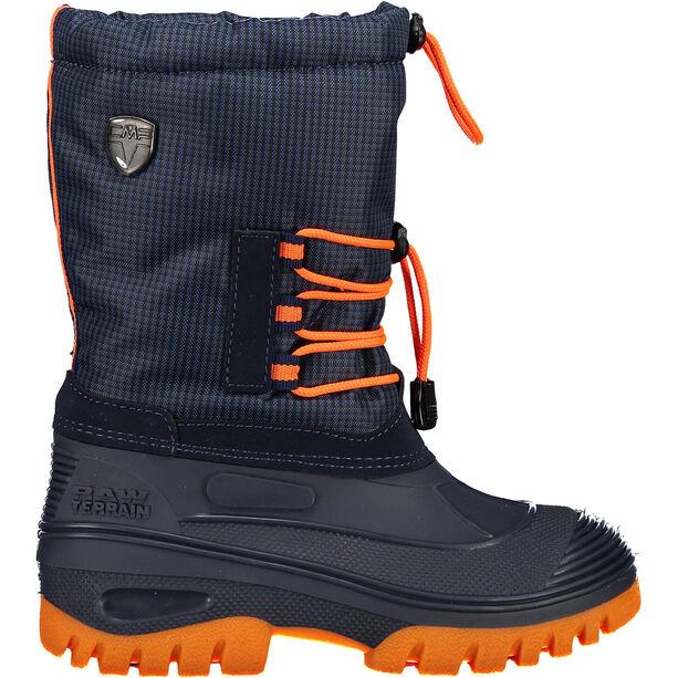 CMP Campagnolo Ahto WP Schneestiefel Jugend black blue/orange fluo