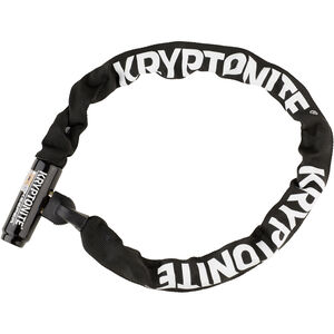 Kryptonite Keeper 785 Integrated Chain Kettenschloss schwarz schwarz