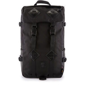 Topo Designs Klettersack Rucksack ballisticblack/black leather ballisticblack/black leather