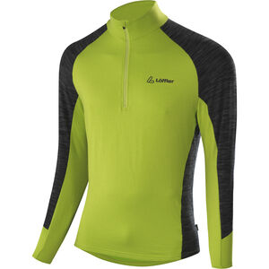 Löffler Rob Transtex Zip-Sweater Herren lime lime