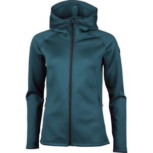 North Bend Vector Kapuzen-Fleecejacke Damen blue pond blue pond