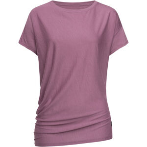 super.natural Yoga Loose T-Shirt Damen berry conserve melange berry conserve melange