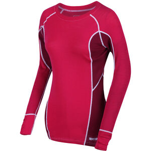 Regatta Beru LS Shirt Damen duchess/beetroot duchess/beetroot