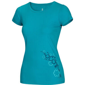 Ocun Blooms T-Shirt Damen baltic blue baltic blue