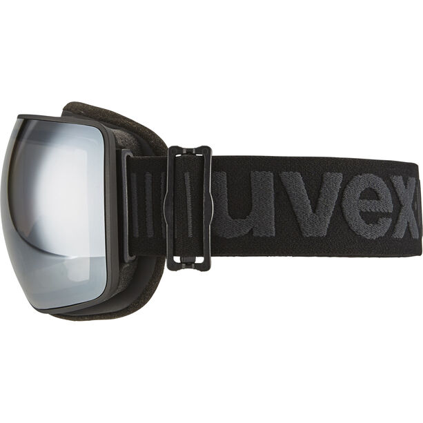 UVEX Compact LM Goggles bl. mat dl/mirror silver