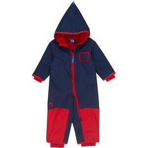 Finkid Pikku Winter Overall Kinder navy/red navy/red