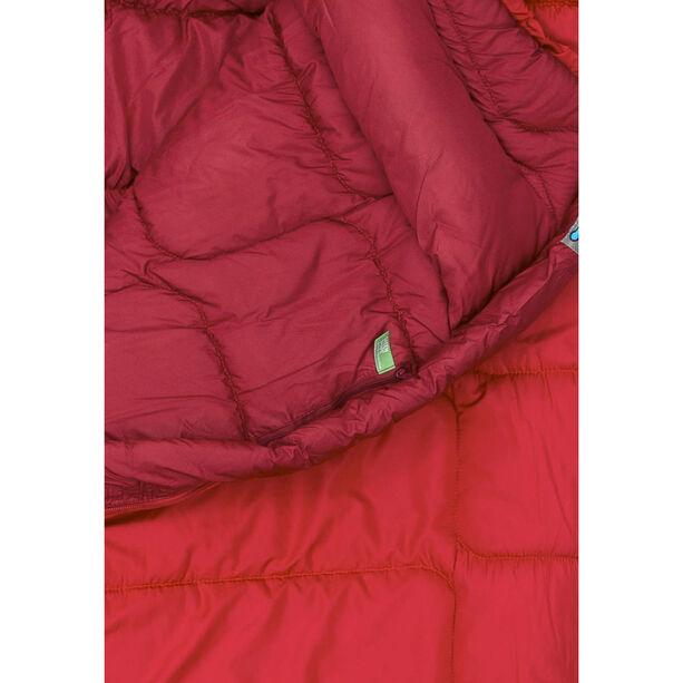 VAUDE Sioux 800 Syn Sleeping Bag dark indian red