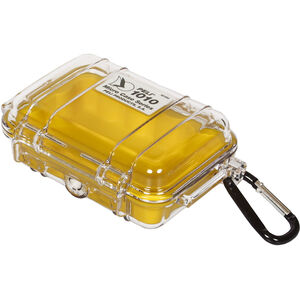 Peli MicroCase 1010 Box transparent-yellow transparent-yellow