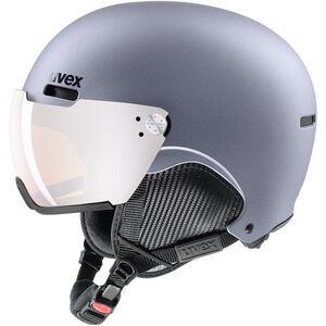 UVEX hlmt 500 Visor Ski Helmet strato metallic mat strato metallic mat