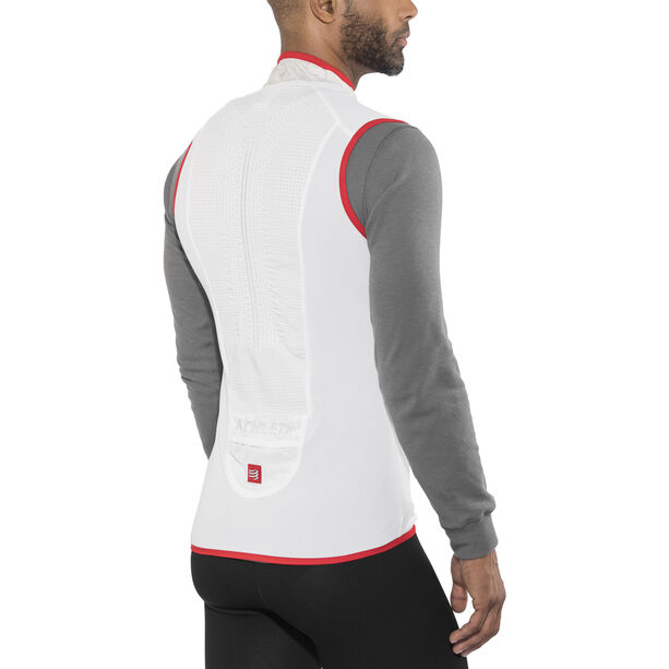 Compressport Trail Hurricane Vest Herren white