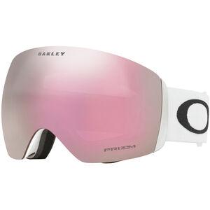 Oakley Flight Deck Snow Goggles Herren matte white/w prizm hi pink iridium matte white/w prizm hi pink iridium