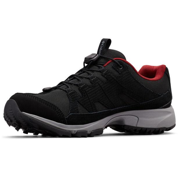 Columbia Five Forks WP Schuhe Herren black/red jasper