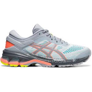 asics Gel-Kayano 26 Lite-Show Schuhe Damen piedmont grey/sun coral piedmont grey/sun coral