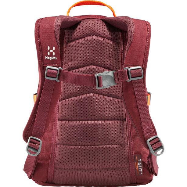 Haglöfs Tight Junior 8 Backpack Kinder aubergine/cayenne
