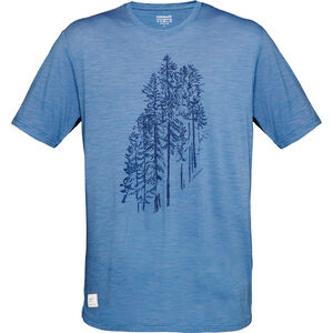 Norrøna Svalbard Wool T-Shirt Herren denimite denimite