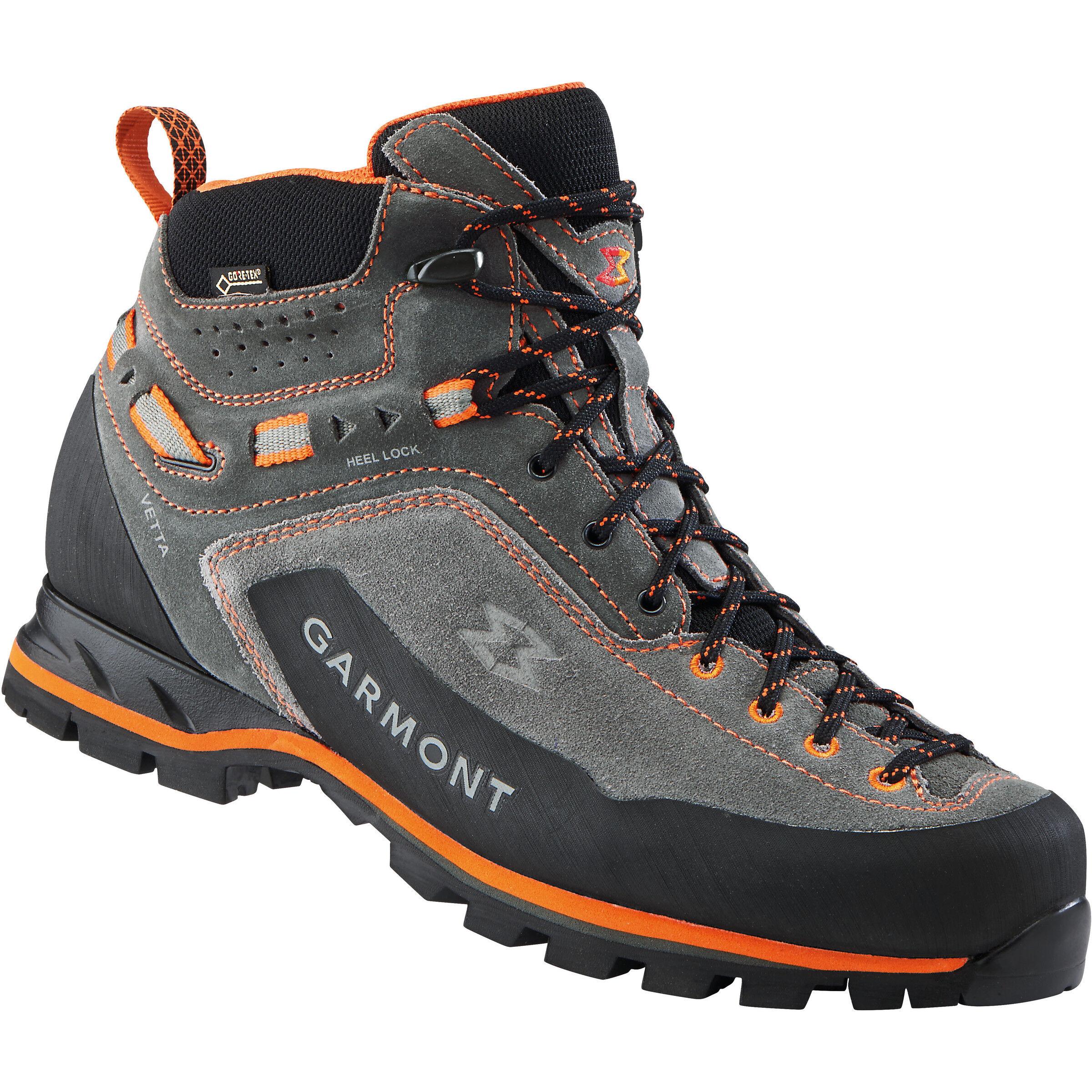 Garmont Vetta GTX Mid Cut Shoes Herren dark greyorange