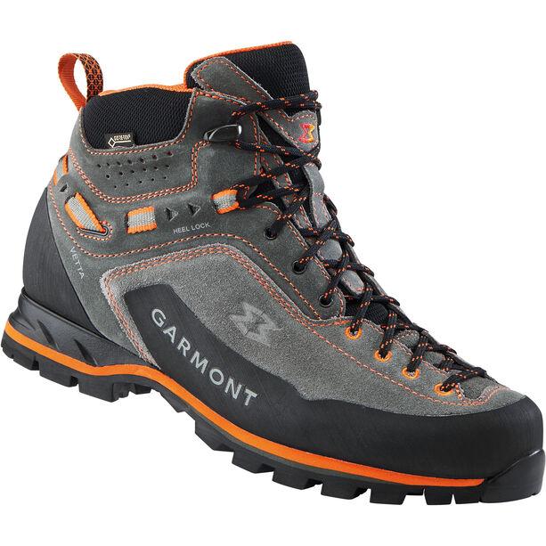 Garmont Vetta GTX Mid Cut Shoes Herren dark grey/orange