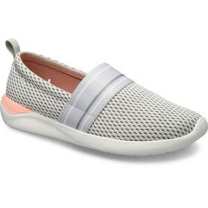 Crocs LiteRide Mesh Slip On Damen pearl white/white pearl white/white