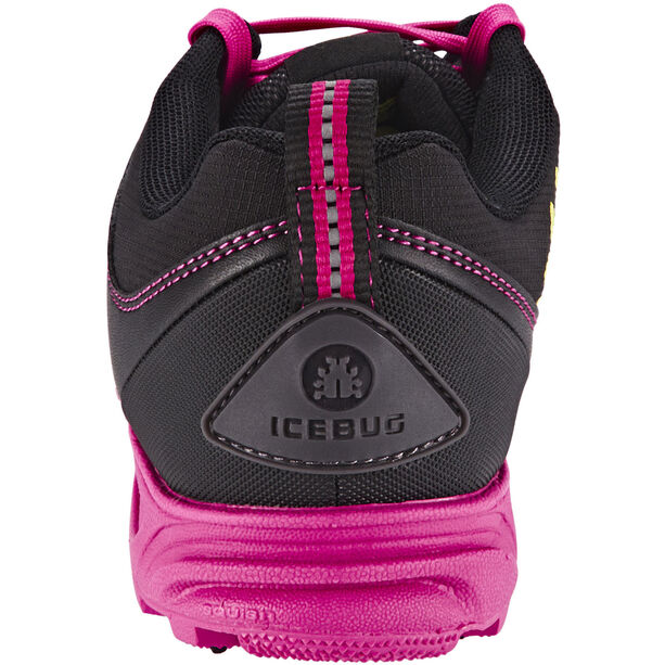 Icebug Pytho3 BUGrip Shoes Damen Black/Peony