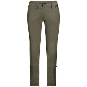 Jack Wolfskin Desert Roll-Up Pants Damen woodland green woodland green