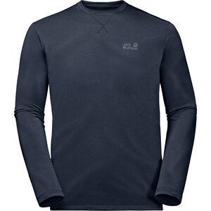Jack Wolfskin Crosstrail Longsleeve Shirt Herren night blue night blue