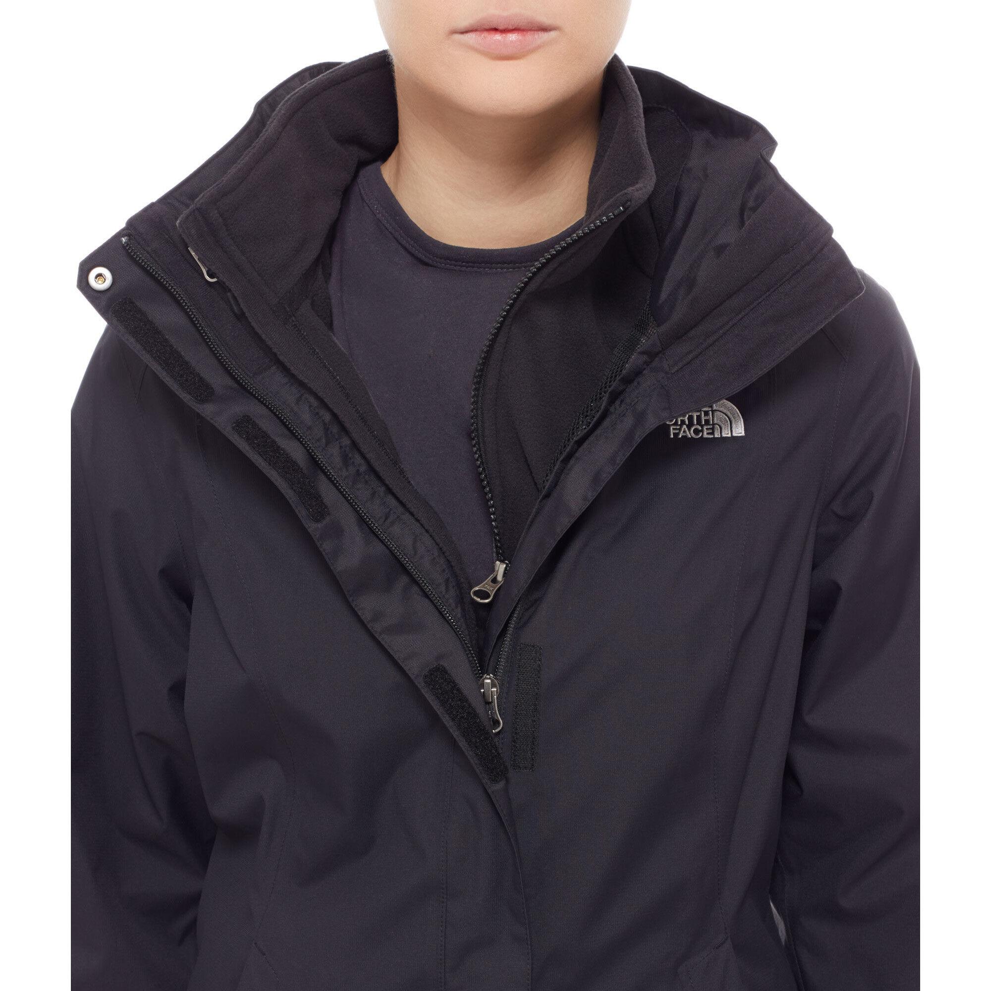 North Tnf Face Triclimate Jacket Black Evolve Ii Damen The CBedox