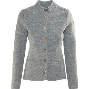 Maloja AllegriaM. Alpine Wool Jacket Damen grey melange grey melange