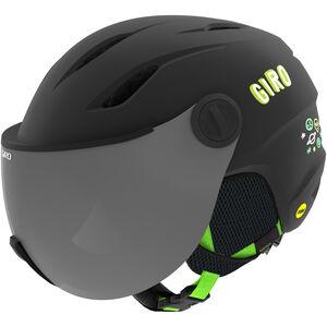 Giro Buzz MIPS Helm Kinder matte black/bright green alien matte black/bright green alien