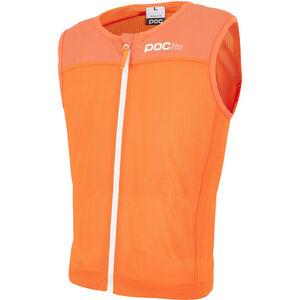 POC POCito VPD Spine Weste Kinder fluorescent orange fluorescent orange