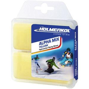 Holmenkol Alphamix Yellow Basis Wachs 2x35g