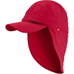 VAUDE Sahara III Cap Kinder indian red indian red