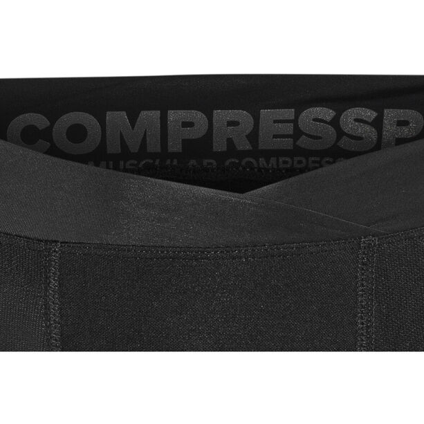Compressport Running Under Control 3/4 Piraten Hose black