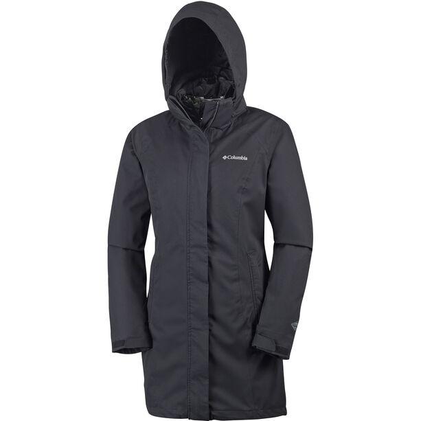 Columbia Salcantay Long Interchange Jacket Damen black