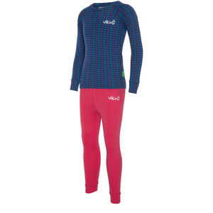 Viking Europe Nino Unterwäsche Set Kinder fuchsia navy fuchsia navy
